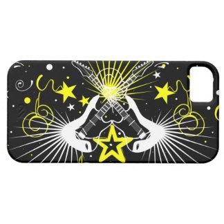 Diseño de la roca de la guitarra iPhone 5 Case-Mate protectores