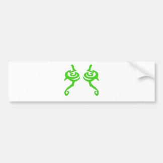 Diseño de la runa de Illidan Pegatina Para Auto
