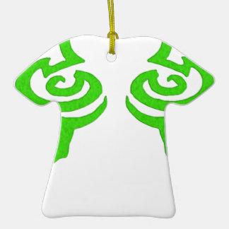 Diseño de la runa de Illidan Adorno De Cerámica En Forma De Playera