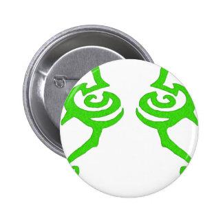 Diseño de la runa de Illidan Pin Redondo 5 Cm