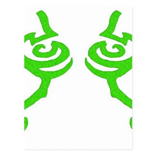 Diseño de la runa de Illidan Postales