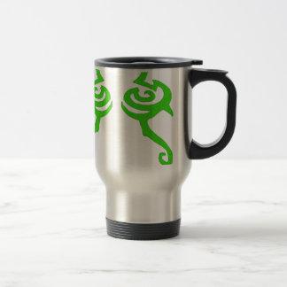 Diseño de la runa de Illidan Taza De Viaje De Acero Inoxidable