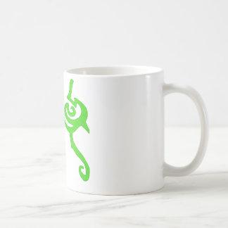 Diseño de la runa de Illidan Taza Básica Blanca