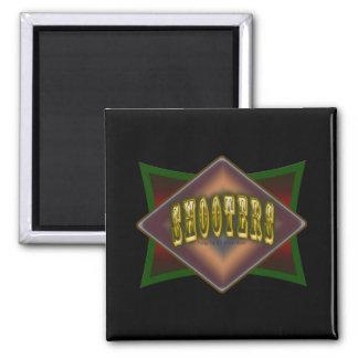 Diseño de la sala de billar de las pistolas de los imán para frigorifico