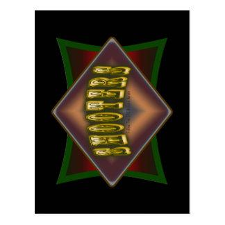 Diseño de la sala de billar de las pistolas de los tarjetas postales