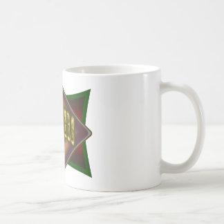 Diseño de la sala de billar de las pistolas de los tazas de café