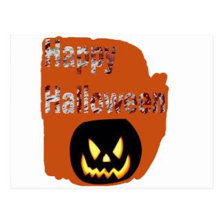 Diseño de la salpicadura de la sangre del feliz tarjetas postales