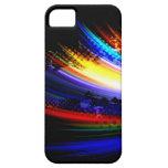 Diseño de la salpicadura del arte del fractal del  iPhone 5 Case-Mate carcasa