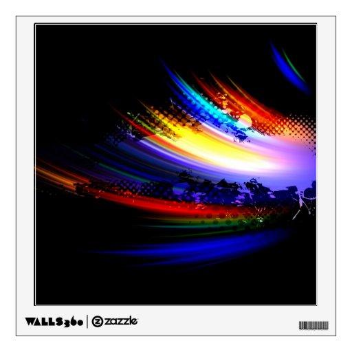 Diseño de la salpicadura del arte del fractal del vinilo adhesivo