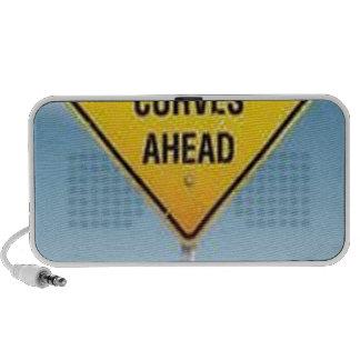 Diseño de la señal de tráfico altavoces