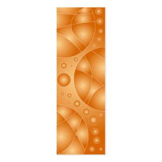 Diseño de la señal tarjetas de visita