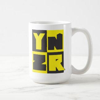 Diseño de la serie de YNZR - es una cosa del munic Tazas De Café
