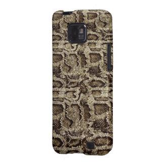 diseño de la Serpiente-piel una dosis sin esfuerzo Samsung Galaxy S2 Funda