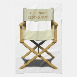 Diseño de la silla de los directores con su opción toalla de mano