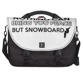 diseño de la snowboard bolsas para portátil