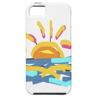 Diseño de la sol de Carola Tomlinson iPhone 5 Case-Mate Funda
