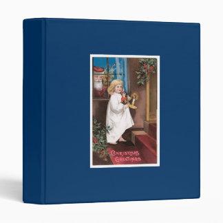 Diseño de la tarjeta de Navidad del vintage de los