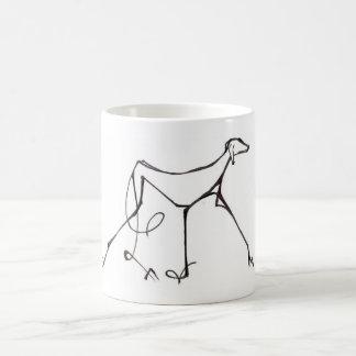 Diseño de la taza de Azawakh de David Moore