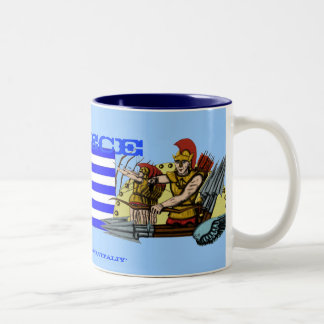 Diseño de la taza de Grecia