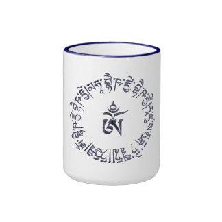 Diseño de la taza de señor Buda Mantra de Buddist