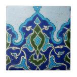 Diseño de la teja de Iznik de la era del otomano d