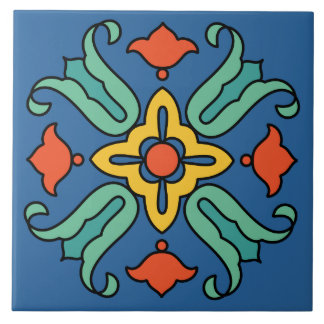 Diseño de la teja de la isla de Catalina del vinta