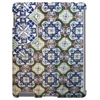 Diseño de la teja de Talavera del mexicano Funda Para iPad
