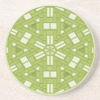 Diseño de la teja posavasos para bebidas