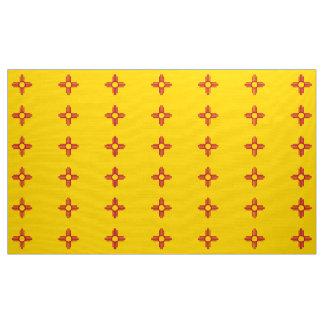 Diseño de la tela de la bandera del estado de New Telas