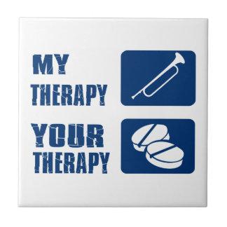 diseño de la terapia del bugle azulejos