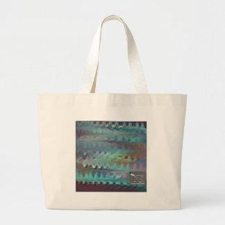 Diseño de la textura del color de agua bolsa de mano