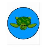 Diseño de la tortuga postal
