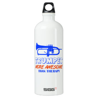 Diseño de la TROMPETA Botella De Agua
