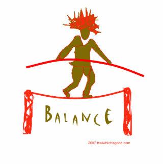 Diseño de la yoga de la balanza… escultura fotográfica