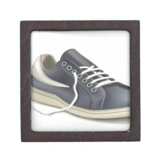 Diseño de la zapatilla de deporte del zapato de cajas de recuerdo de calidad