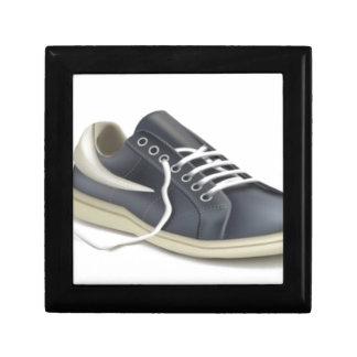 Diseño de la zapatilla de deporte del zapato de joyero cuadrado pequeño