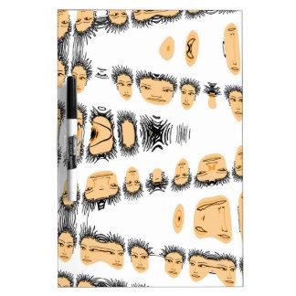 diseño de las cabezas pizarra