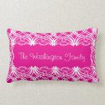 Diseño de las curvas, rosado almohadas