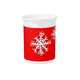 Diseño de las escamas del acebo y de la nieve del jarron