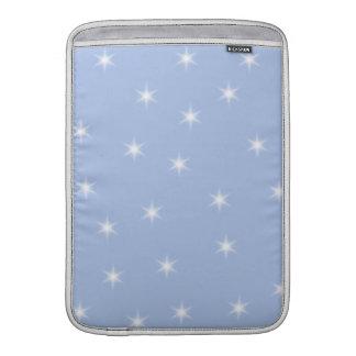 Diseño de las estrellas blancas y azules fundas MacBook