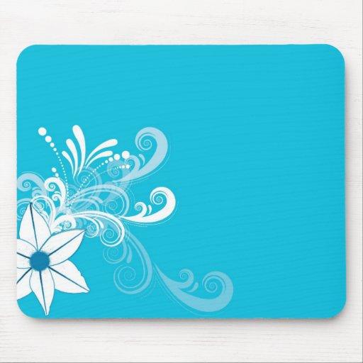 diseño de las flores alfombrilla de ratón