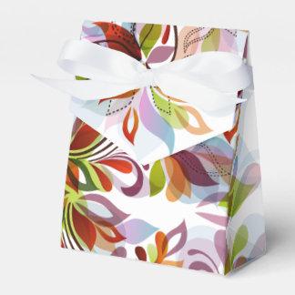 Diseño de las flores de molinillo de viento - caja para regalo de boda