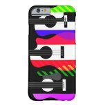 Diseño de las guitarras del arco iris funda de iPhone 6 barely there