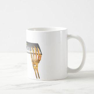 Diseño de las manos del teclado de Valxart Taza De Café