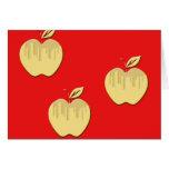 Diseño de las manzanas tarjeta