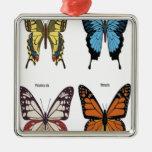 Diseño de las mariposas adornos