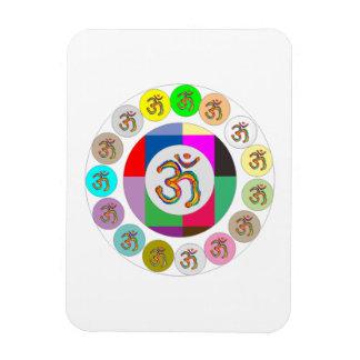 Diseño de las monedas del MANTRA de OmMantra OM Imanes