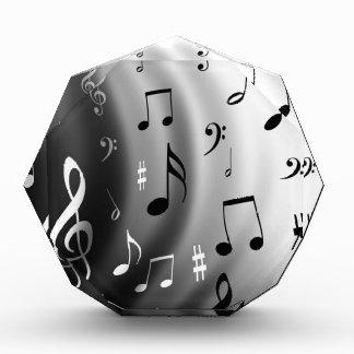 Diseño de las notas musicales