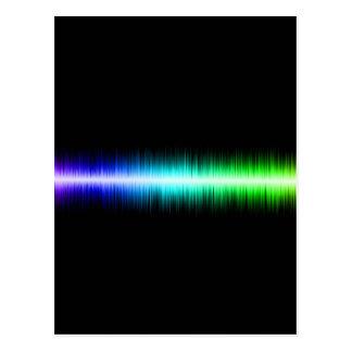 Diseño de las ondas acústicas postales