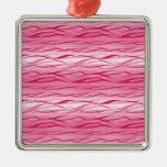 Diseño de las ondas ornaments para arbol de navidad